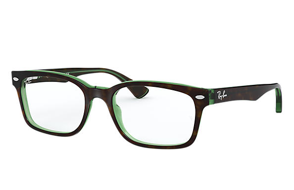 Ray-Ban 0RX5286-RB5286 Havana,Grün OPTICAL