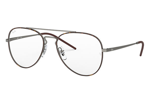 Ray-Ban 0RX6413-RB6413 Tortoise,Gunmetal; Gunmetal OPTICAL
