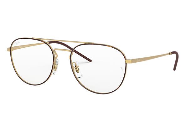 c081f90a4c387 Ray-Ban prescription glasses RB6414 Black - Metal - 0RX6414298353 ...