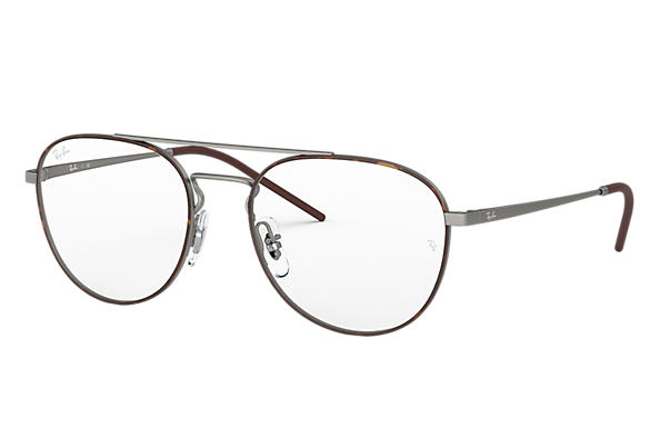 Ray-Ban		 0RX6414-RB6414 Tortoise,Staalgrijs; Staalgrijs OPTICAL