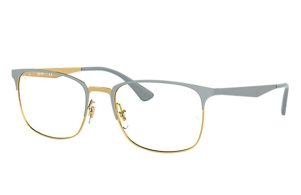 Ray-Ban 0RX6421-RB6421 Grau,Gold OPTICAL