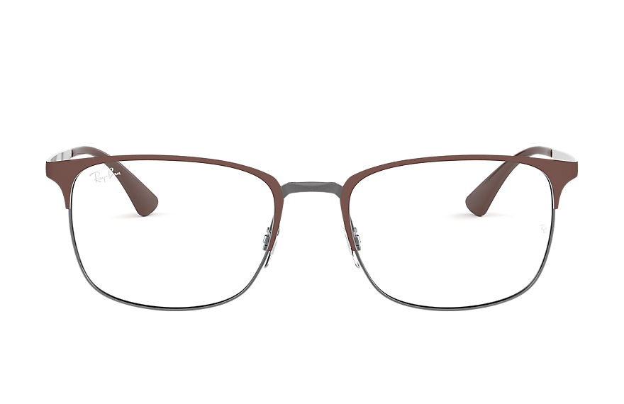 Ray-Ban  eyeglasses RX6421 MALE 007 rb6421 茶色 8056597026635