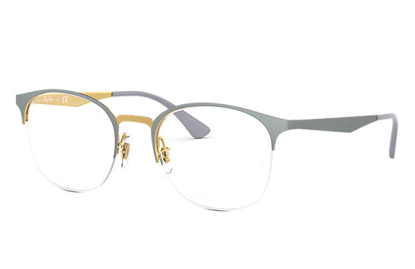 Ray-Ban 0RX6422-RB6422 Grey,Gold OPTICAL