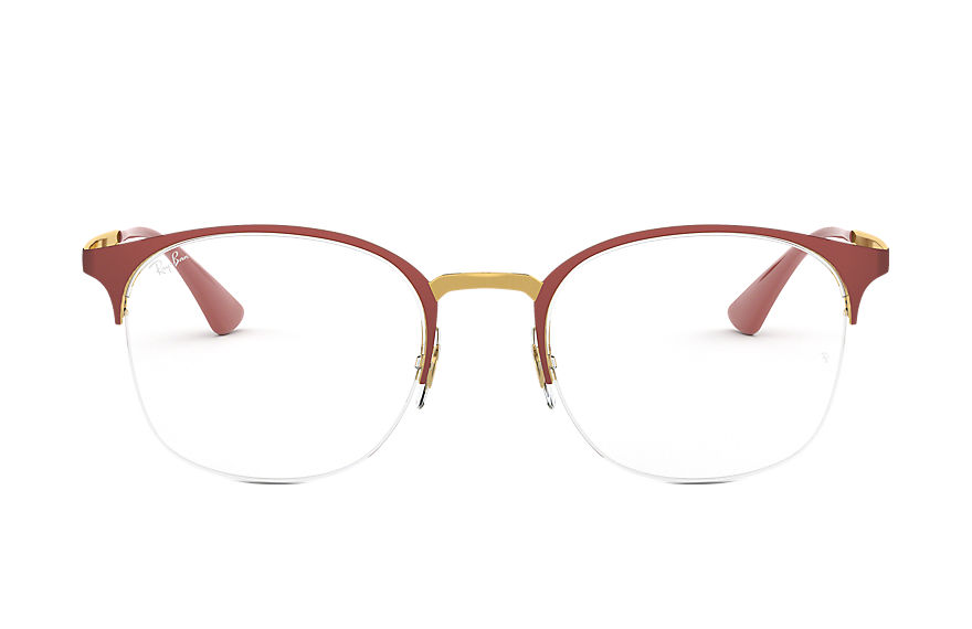 Ray-Ban  eyeglasses RX6422 CHILD 007 rb6422 红色 8056597027212