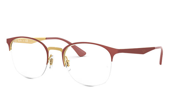 Ray-Ban 0RX6422-RB6422 Rood,Goud OPTICAL