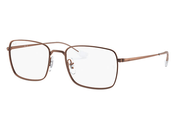 Ray-Ban 0RX6437-RB6437 Dark Brown; Brown OPTICAL