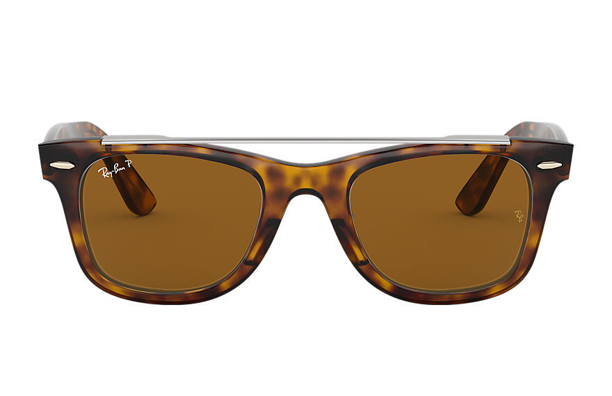 Ray-Ban  sunglasses RB4540 MALE 005 wayfarer double bridge tortoise 8056597033763