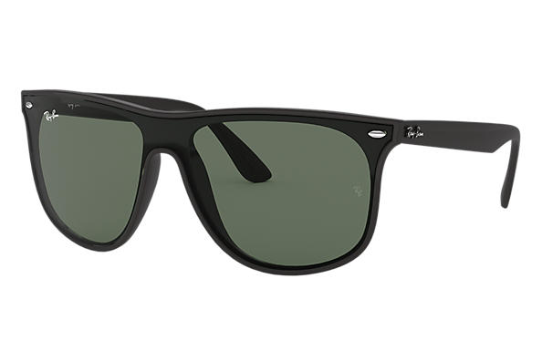 4b3d28f7fa2 Ray-Ban Blaze Rb4447n RB4447N Black - Nylon - Green Lenses ...