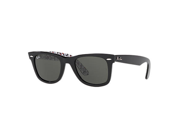 Ray-Ban 0RB2140-RB2140 Mickey M90th Black,Mickey Mouse Texture SUN