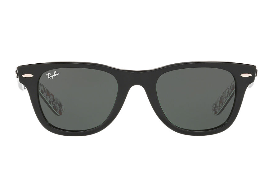 Ray-Ban Sunglasses RAY-BAN_X_DISNEY Black with Green Classic lens