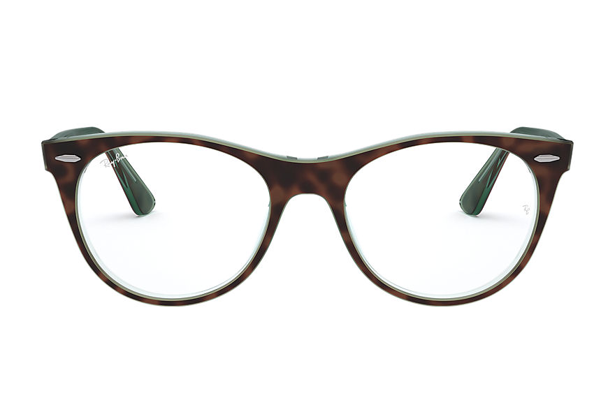 Ray-Ban  occhiali da vista RX2185V MALE 004 wayfarer ii optics tortoise 8056597035118