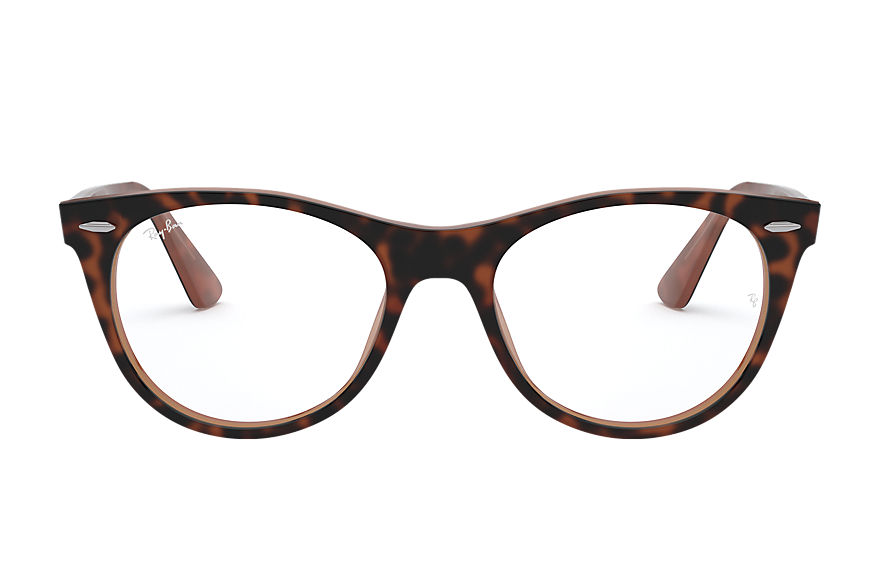 Ray-Ban  occhiali da vista RX2185V MALE 001 wayfarer ii optics tortoise 8056597035200
