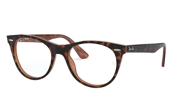 Ray-Ban 0RX2185V-WAYFARER II OPTICS Tartaruga,Marrone OPTICAL