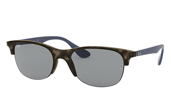 Ray-Ban 0RB4419-RB4419 Grey Havana; Blue SUN