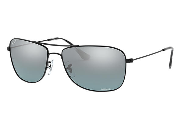 Ray-Ban Sunglasses RB3543 Chromance Black with Grey Mirror Chromance lens