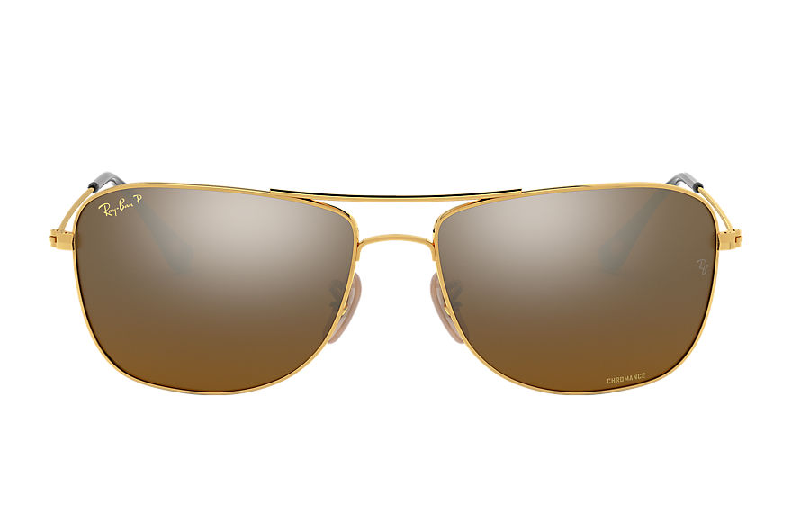 Ray-Ban  sonnenbrillen RB3543 MALE 001 rb3543 chromance gold 8056597036009