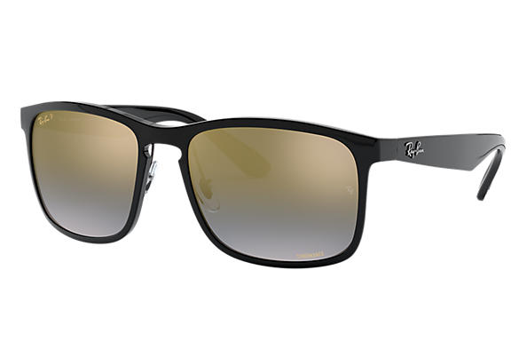 266d9c5997d Ray-Ban Rb4264 Chromance RB4264 Grey - Nylon - Green Polarized ...