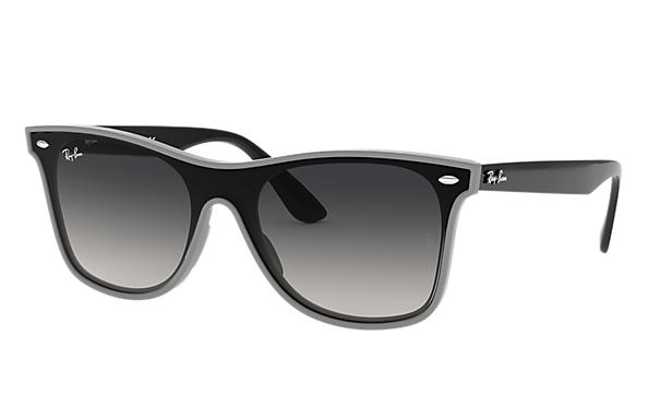 Ray-Ban Sunglasses BLAZE WAYFARER Grey with Grey Gradient lens