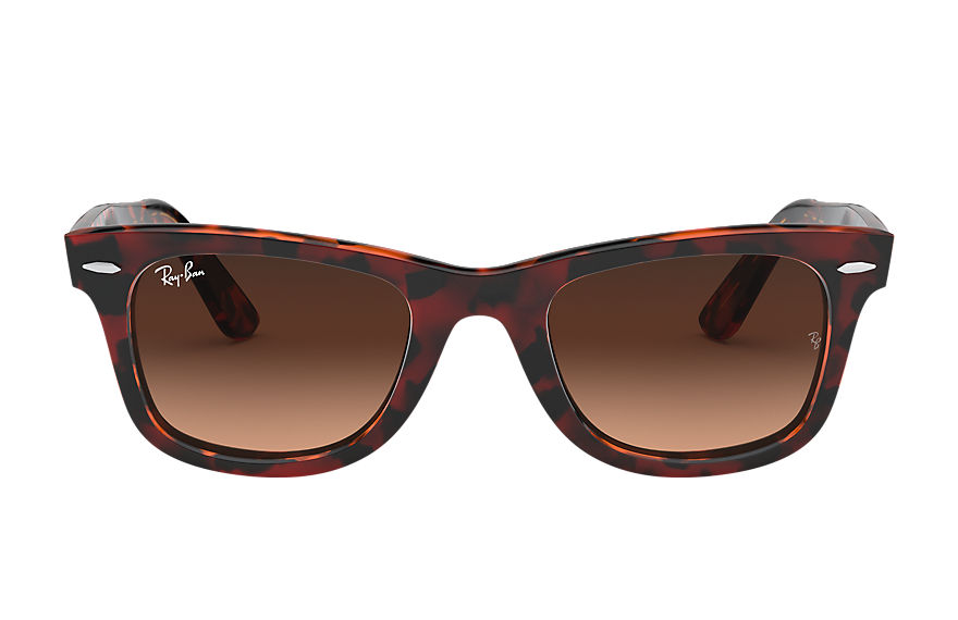Ray-Ban  sunglasses RB2140 UNISEX 011 original wayfarer color mix red havana 8056597036368