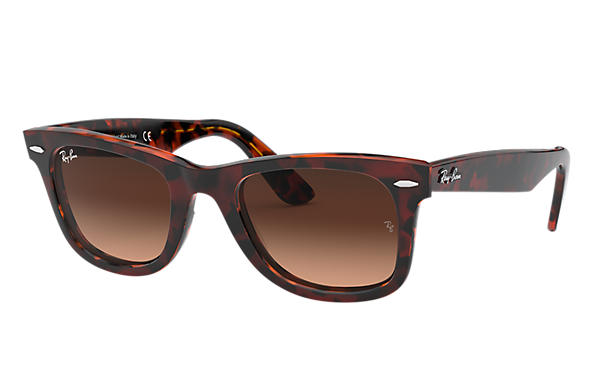 db9769f8f6 Ray-Ban 0RB2140-ORIGINAL WAYFARER COLOR MIX Red Havana,Tortoise SUN ...