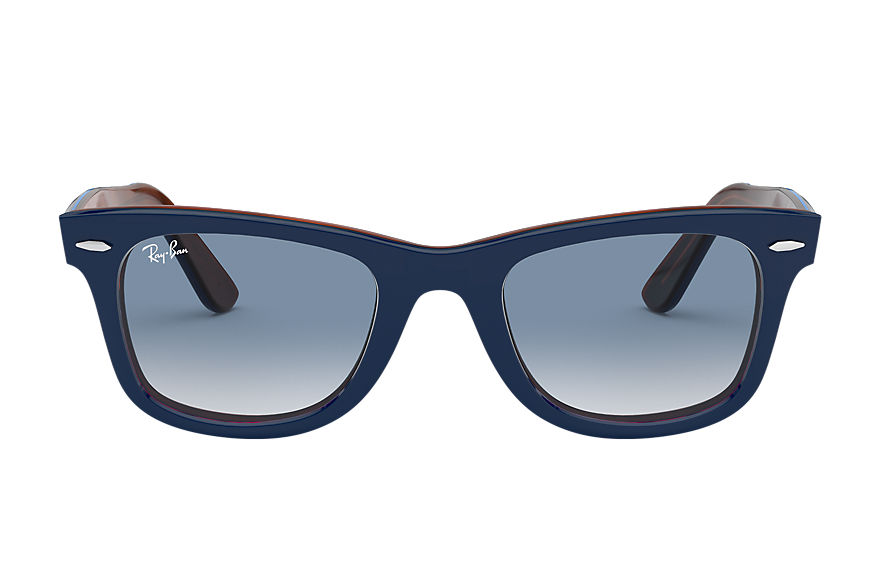 Ray-Ban  sunglasses RB2140 MALE 007 original wayfarer color mix blue 8056597036450