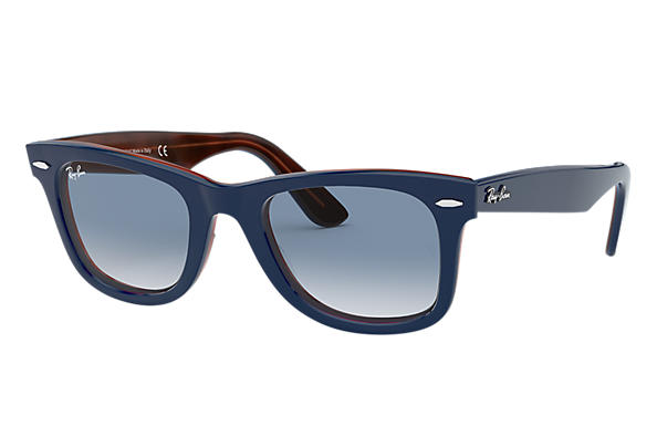 Ray-Ban 0RB2140-ORIGINAL WAYFARER COLOR MIX Blau,Havana Rot SUN