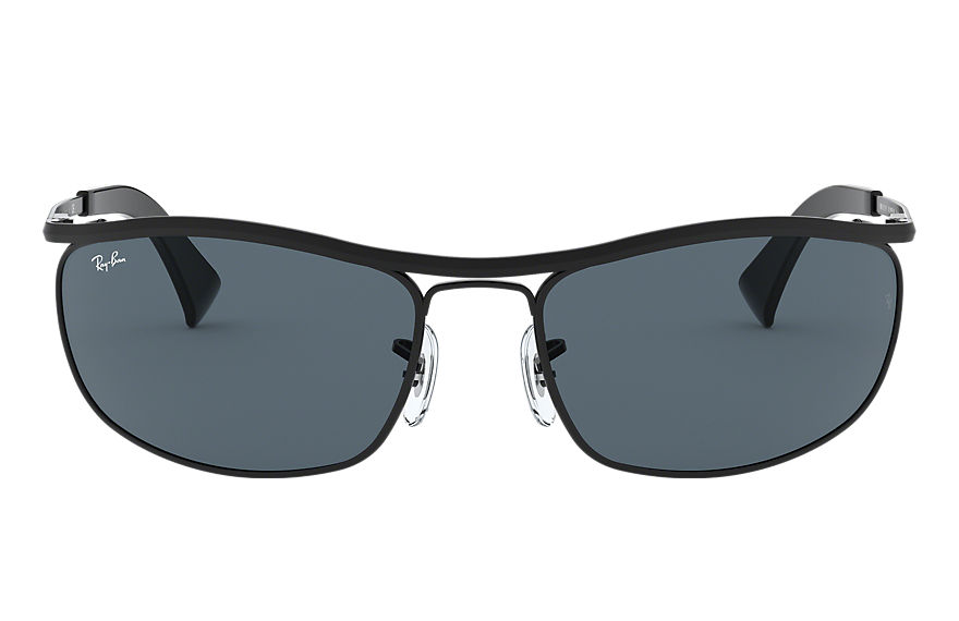 Ray-Ban Sunglasses OLYMPIAN Black with Blue/Gray Classic lens