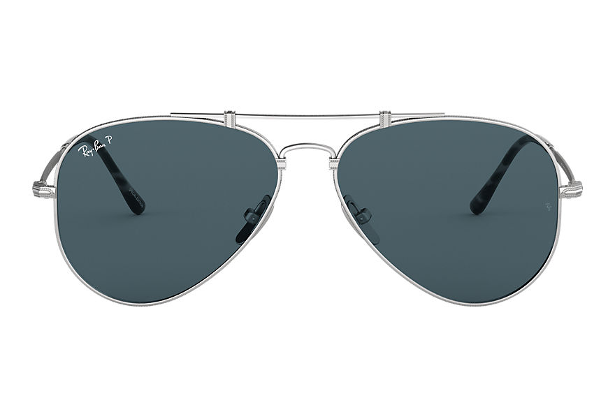 Ray-Ban  sunglasses RB8125M UNISEX 002 aviator titanium 매트 실버 8056597038706