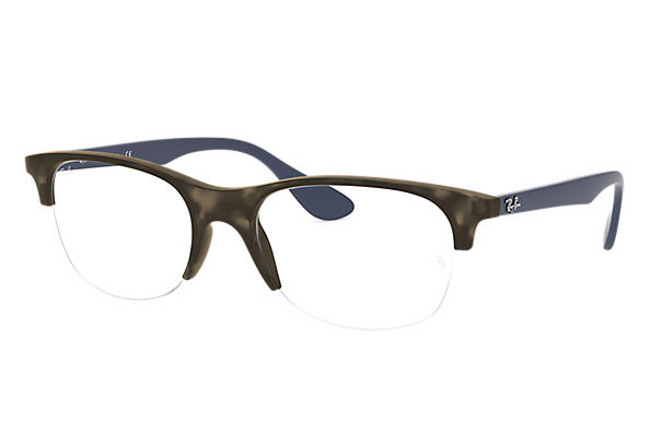 Ray-Ban 0RX4419V-RB4419V Havana Grau,Grau; Blau OPTICAL