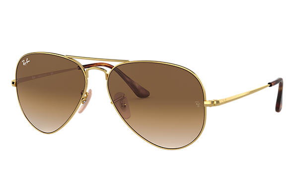 Ray-Ban 0RB3689-RB3689 Gold SUN