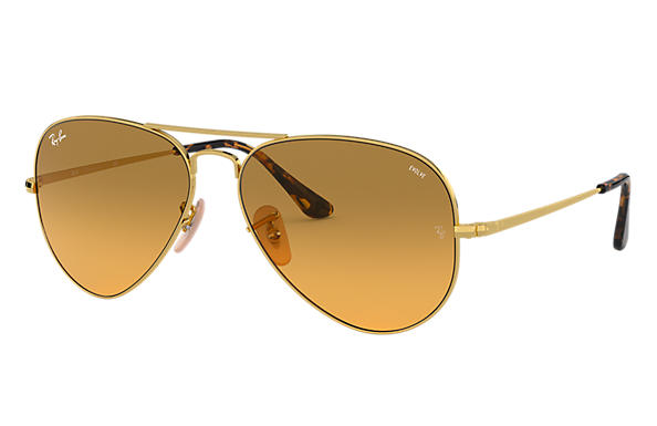 Ray-Ban 0RB3689-RB3689 EVOLVE Gold SUN