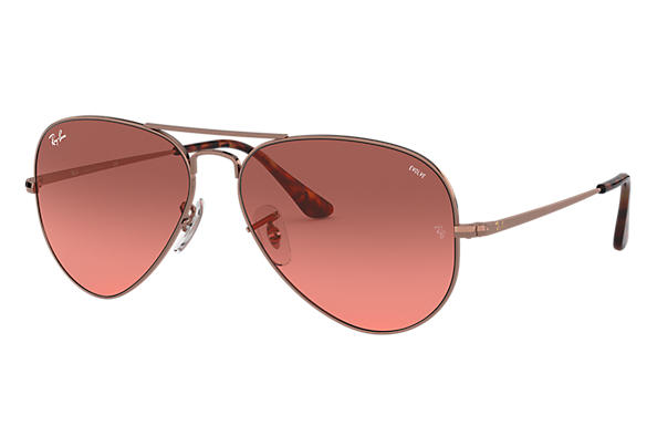 Ray-Ban 0RB3689-RB3689 EVOLVE Bronze-Copper SUN