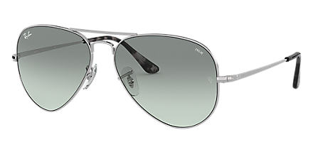 98f3fd86470 Ray-Ban RB3689 EVOLVE Silver with Light Blue Photocromic lens