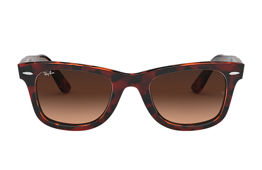 Ray-Ban  sunglasses RB2140F MALE 008 original wayfarer color mix 紅色哈瓦那玳瑁 8056597042321