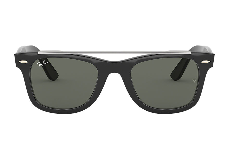 Ray-Ban  sunglasses RB4540F MALE 006 wayfarer double bridge 黑色 8056597042574