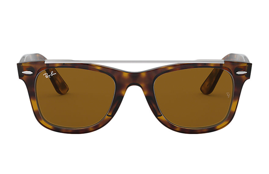 Ray-Ban  sunglasses RB4540F MALE 002 wayfarer double bridge 玳瑁啡色 8056597042581