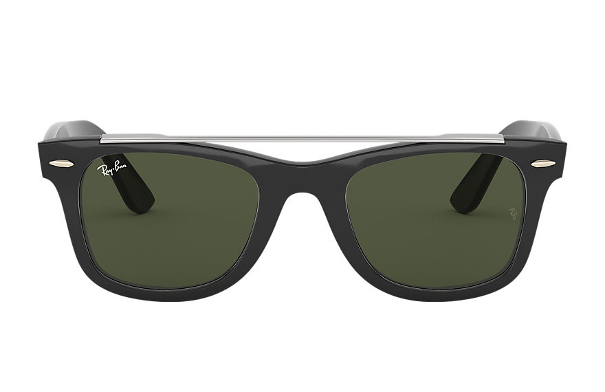 Ray-Ban  sunglasses RB4540F MALE 003 wayfarer double bridge 黑色 8056597042611