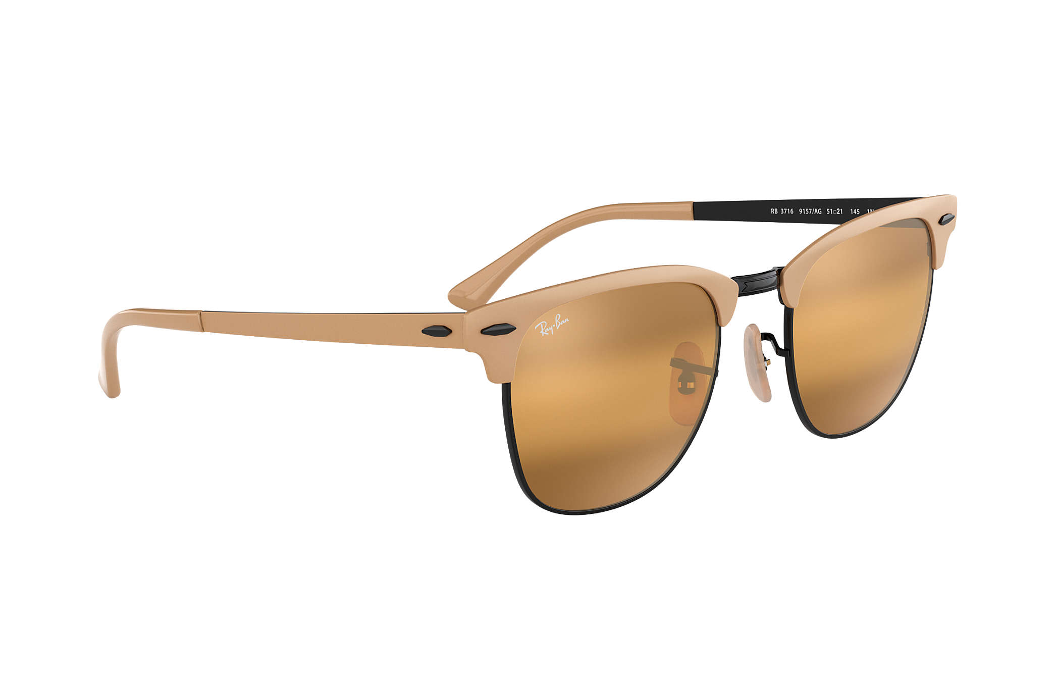 Ray Ban CLUBMASTER METAL RB 3716 9157AG