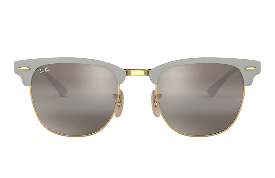 Ray-Ban  sunglasses RB3716 MALE 005 clubmaster metal grey 8056597043861