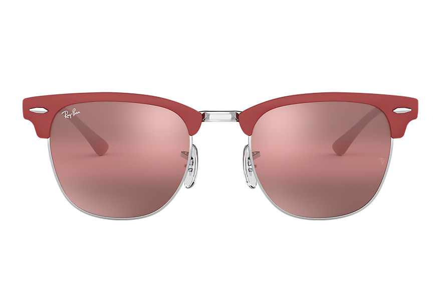 Ray-Ban  oculos de sol RB3716 MALE 002 clubmaster metal bordeaux 8056597043885