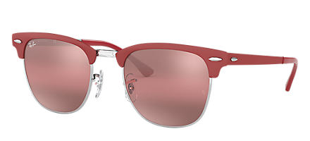 e8f5b5087b Ray-Ban CLUBMASTER METAL Bordeaux with Purple Photocromic lens