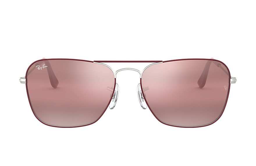 Ray-Ban  sonnenbrillen RB3136 MALE 004 caravan bordeaux 8056597044196