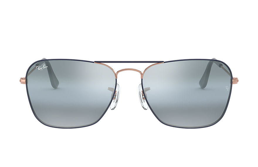 Ray-Ban  occhiali da sole RB3136 MALE 002 caravan blu scuro 8056597044264