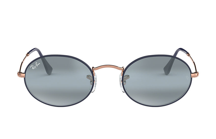 Ray-Ban  sunglasses RB3547 MALE 005 oval blå 8056597044752