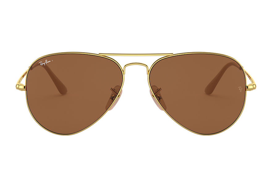 Ray-Ban  sunglasses RB3689 UNISEX 006 rb3689 gold 8056597044875