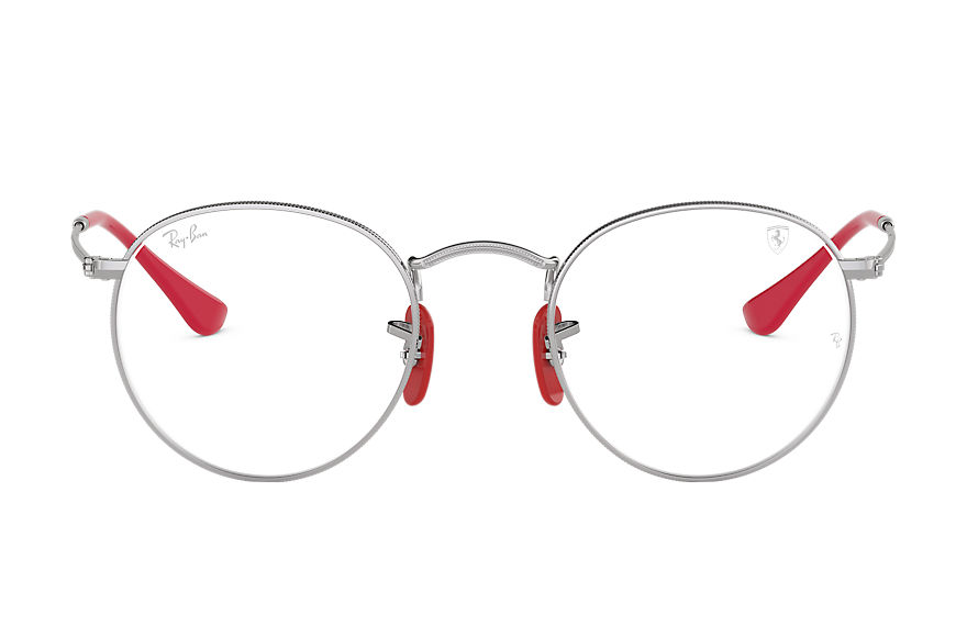 Ray-Ban  eyeglasses RX3447VM UNISEX 004 rb3447vm scuderia ferrari collection silver 8056597045797