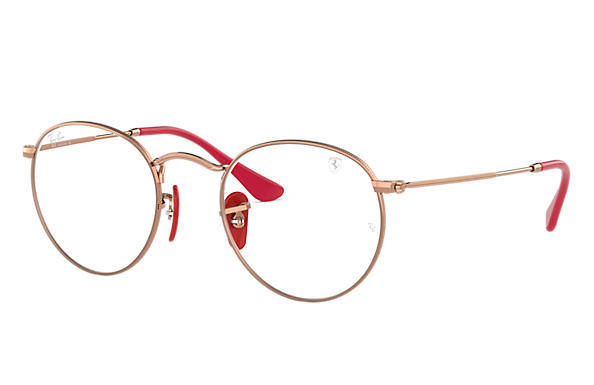 Ray-Ban 0RX3447VM-RB3447VM SCUDERIA FERRARI COLLECTION Bronze-cuivre OPTICAL