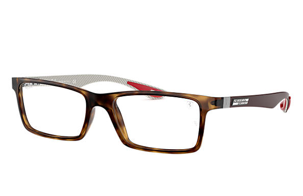 Ray-Ban 0RX8901M-RB8901M SCUDERIA FERRARI COLLECTION Havane; Gun OPTICAL