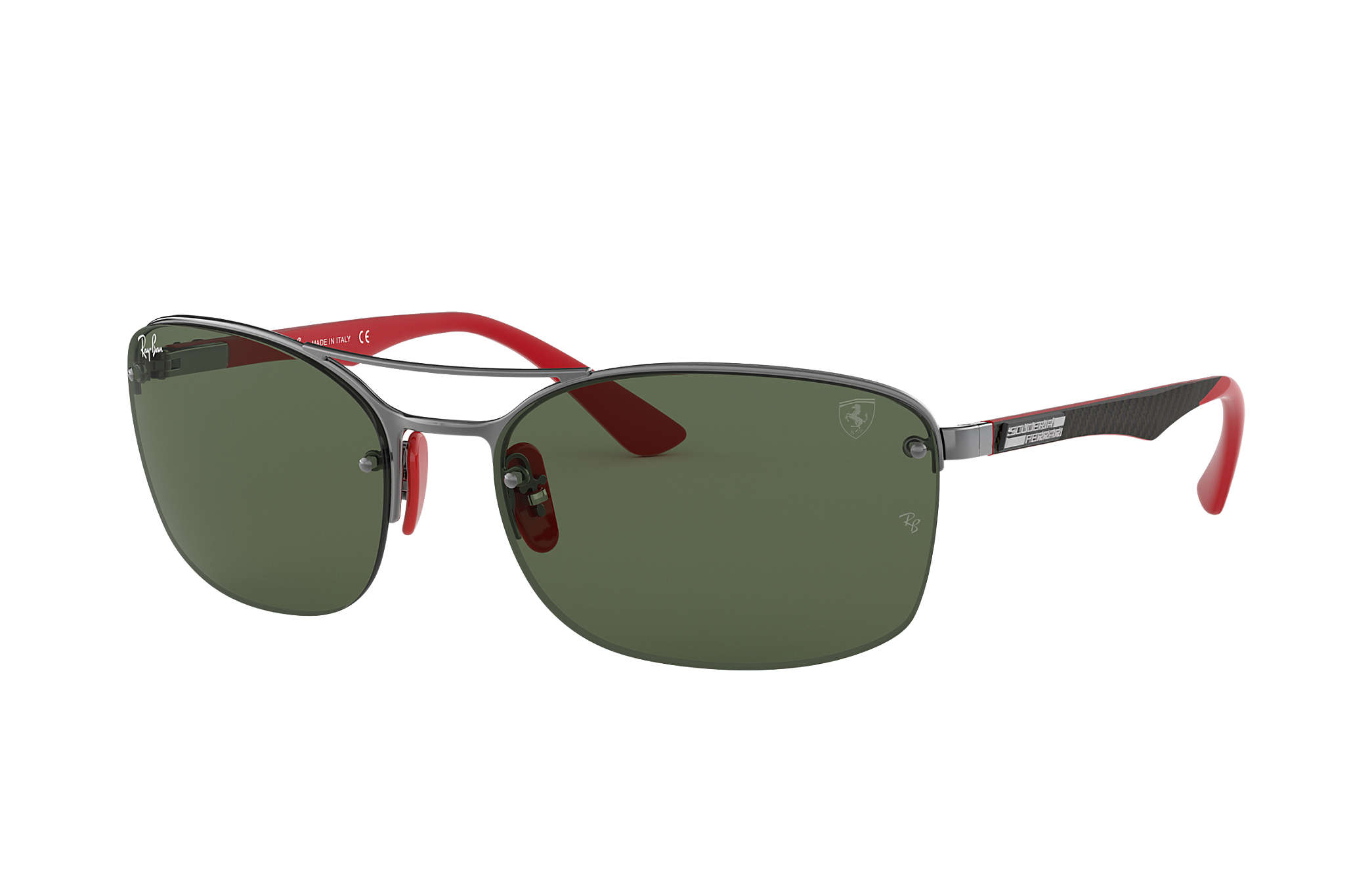 28f32913b8cb23 Ray-Ban Rb3617m Scuderia Ferrari Collection RB3617M Gunmetal - Metal ...