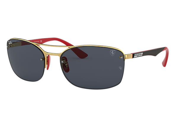 Ray-Ban 0RB3617M-RB3617M SCUDERIA FERRARI COLLECTION Gold; Gold,Red SUN